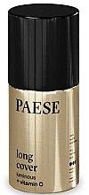 Düfte, Parfümerie und Kosmetik Langanhaltende Foundation mit Vitamin C - Paese Long Cover Luminous
