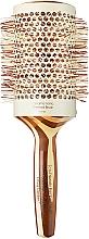 Düfte, Parfümerie und Kosmetik Klimafreundliche runde Bambusbürste d.63 - Olivia Garden Healthy Hair Eco-Friendly Bamboo Brush