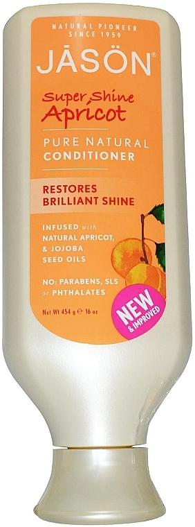 "Haarspülung ""Aprikose"" - Jason Natural Cosmetics Apricot Pure Natural Conditioner — Bild N1"