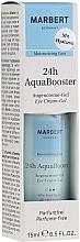 Düfte, Parfümerie und Kosmetik Feuchtigkeitsspendendes Augencreme-Gel - Marbert 24h AquaBooster Augencreme-Gel