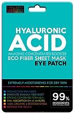 Düfte, Parfümerie und Kosmetik Intensiv feuchtigkeitsspendende Augenpatches mit Hyaluronsäure für trockene Haut - Beauty Face IST Hyaluronic Acid Eco Fiber Eye Patch