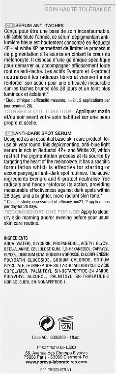 Serum gegen Pigmentflecken - Noreva Laboratoires Trio White XP Anti-Dark Spot Serum — Bild N3