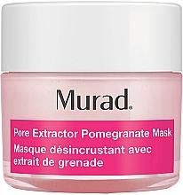 Düfte, Parfümerie und Kosmetik Porenverfeinernde und reinigende Gesichtsmaske mit Granatapfelextrakt - Murad Pore Rescue Pore Extractor Pomegranate Mask