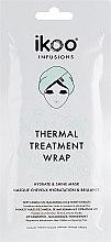 Düfte, Parfümerie und Kosmetik Regenerierende und feuchtigkeitsspendende Anti-Frizz Haarmaske mit Kamelien-, Macadamiaöl und Honigextrakt - Ikoo Infusions Thermal Treatment Wrap