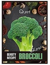 Düfte, Parfümerie und Kosmetik Gesichtsmaske mit Brokkoli-Extrakt für strahlende Haut - Quret Beauty Recipe Mask Broccoli Glow