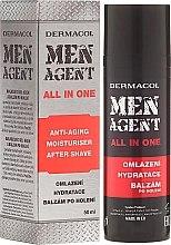 Düfte, Parfümerie und Kosmetik Anti-Aging Gelcreme und After Shave Balsam - Dermacol Men Agent All In One