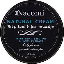 Düfte, Parfümerie und Kosmetik Gesichts- und Körpercreme - Nacomi Only For Men Natural Cream