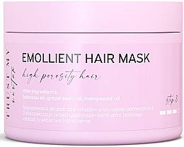 Düfte, Parfümerie und Kosmetik Aufweichende Maske mit Babassu-, Traubenkern- und Hanfsamenöl für hochporöses Haar - Trust My Sister High Porosity Hair Emollient Mask
