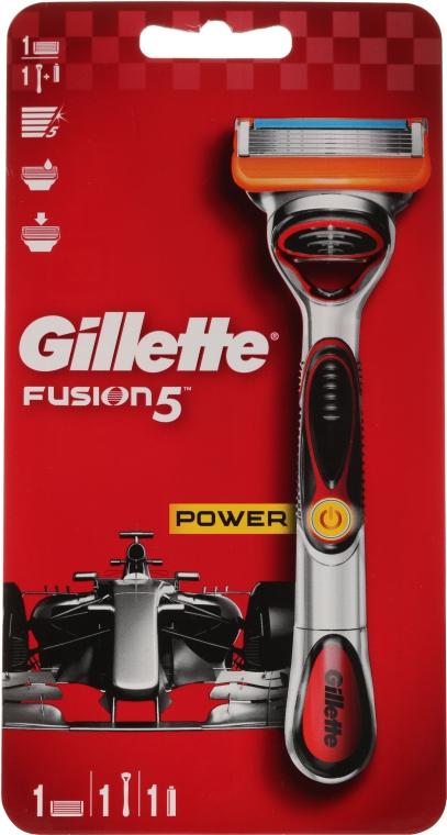 Rasierer mit 1 Rasierklinge - Gillette Fusion5 ProGlide Power