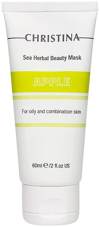 Apfelmaske für fettige und Mischhaut - Christina Sea Herbal Beauty Mask Green Apple
