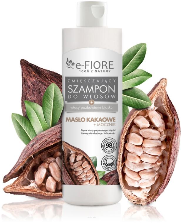 Aufweichendes Shampoo mit Kakaobutter und Harnstoff - E-Fiori
