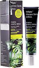 Düfte, Parfümerie und Kosmetik Detox Gesichtsmaske - Tolpa Dermo Face Sebio Black Detox Mask