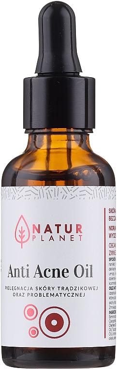 Anti-Akne Gesichtsöl für Problemhaut - Natur Planet Anti Acne Oil