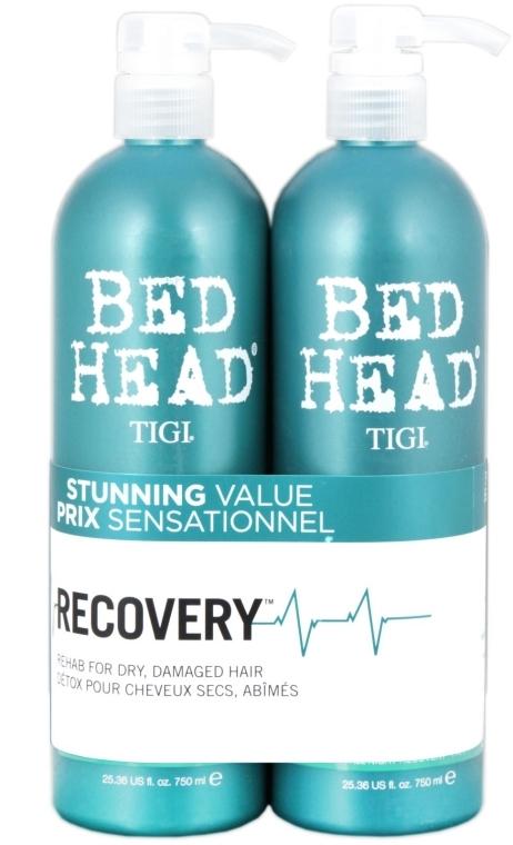 Haarpflegeset - Tigi Bed Head Recovery (Shampoo 750ml + Conditioner 750ml) — Bild N2