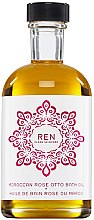 Düfte, Parfümerie und Kosmetik Badeöl mit marokanischem Rosenöl - Ren Moroccan Rose Otto Bath Oil