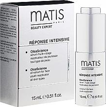Düfte, Parfümerie und Kosmetik Anti-Aging Öl-Serum für Gesicht - Matis Reponse Intensive OleaScience