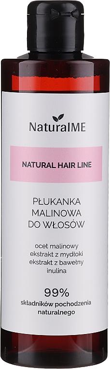 Haarspülung mit Himbeeressig für fettiges Haar - NaturalME Natural Hair Line Balm