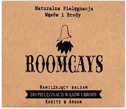 Bart- und Schnurrbartbalsam mit Sheabutter und Arganöl - Roomcays