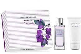 Düfte, Parfümerie und Kosmetik Angel Schlesser Eau Fraiche Te de Grosella - Duftset (Eau de Toilette/100ml + Duschgel/150ml)