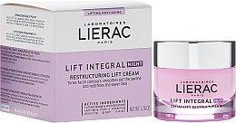 Düfte, Parfümerie und Kosmetik Regenerierende Anti-Aging Nachtcreme mit Lifting-Effekt - Lierac Lift Integral Night Restructuring Lift Cream