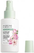Düfte, Parfümerie und Kosmetik Feuchtigkeitsspendendes Gesichtsspray mit botanischer Blumenmischung - Physicians Formula Organic Wear Nutrient Mist Facial Spray