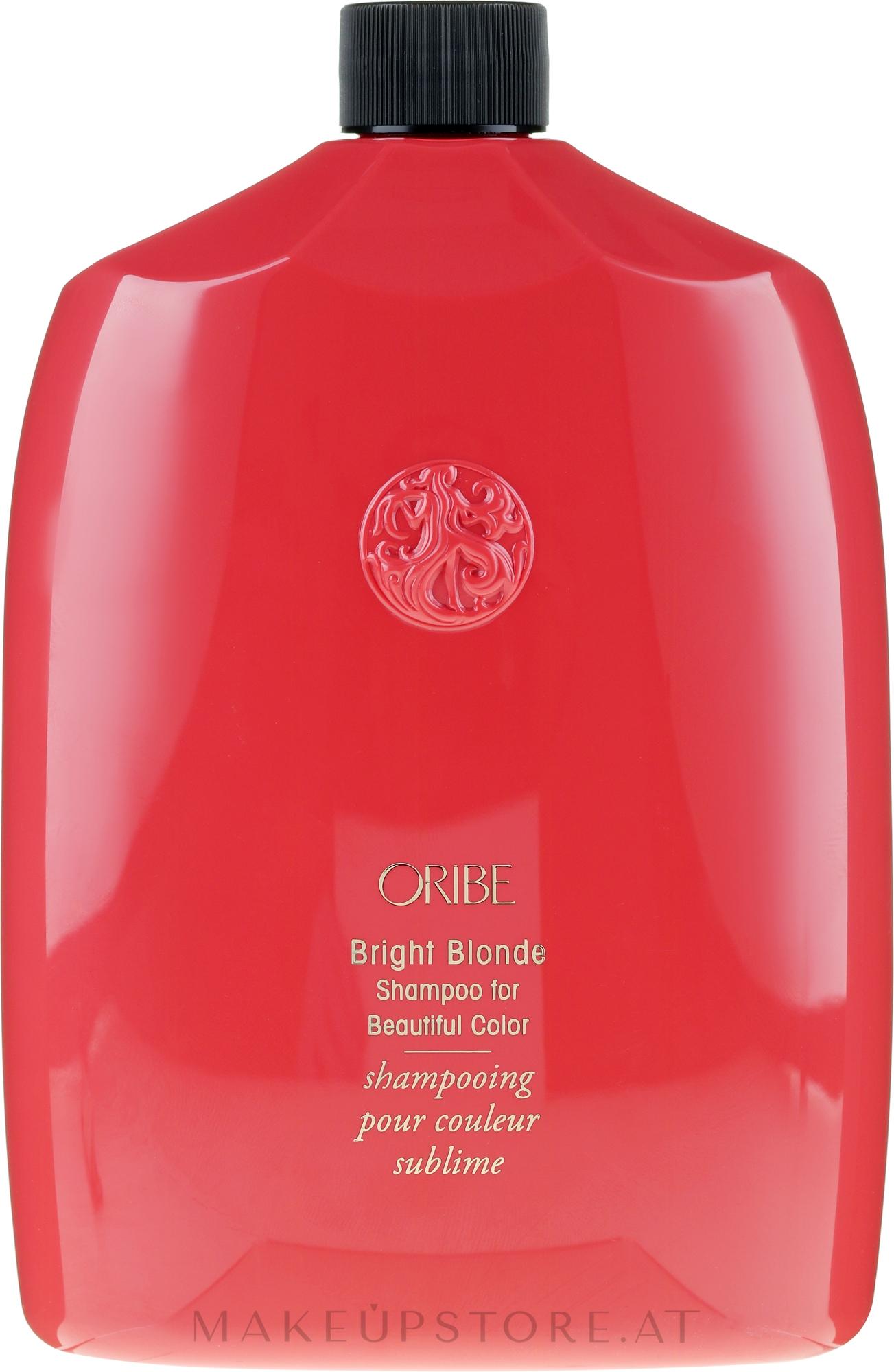 Shampoo für blondes Haar - Oribe Bright Blonde For Beautiful Color Shampoo — Bild 1000 ml