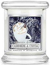 Düfte, Parfümerie und Kosmetik Duftkerze im Glas Cashmere & Cocoa - Kringle Candle Cashmere & Cocoa