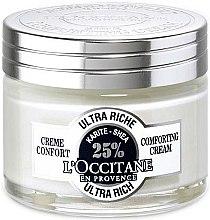 Düfte, Parfümerie und Kosmetik Reichhaltige Gesichtscreme mit Sheabutter - L'occitane Ultra Rich Face Cream