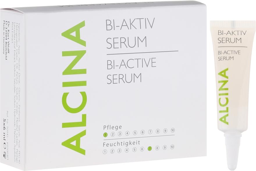 Beruhigendes Kopfhautserum für empfindliche oder schuppige Kopfhaut - Alcina Hair Care Bi Aktiv Serum — Bild N1