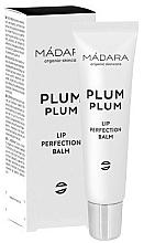 Düfte, Parfümerie und Kosmetik Intensiv verjüngender Lippenbalsam - Madara Cosmetics Plum Plum Lip Balm