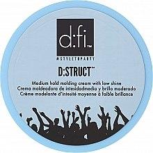 Düfte, Parfümerie und Kosmetik Haarstylingcreme mit mittlerem Halt und natürlichem Glanz - D:fi D:struct Medium Hold Molding Cream