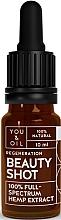 Düfte, Parfümerie und Kosmetik Regenerierendes Gesichtsserum mit Hanfextrakt - You & Oil Beauty Shot Hemp Extract