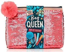 Düfte, Parfümerie und Kosmetik Gesichts- und Körperpflegeset - Dirty Works Queen Night Out Essentials (Lippenstift 2.8ml + Körperspray 10ml + Nagelfeile 1 St. + Kosmetiktasche)