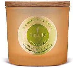 Düfte, Parfümerie und Kosmetik Duftkerze im Glas Frische Energie - Flagolie Fragranced Candle Right Energy