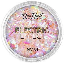 Düfte, Parfümerie und Kosmetik Nagelglitzer - NeoNail Professional Electric Effect Flakes