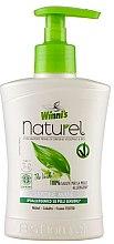 Düfte, Parfümerie und Kosmetik Flüssige Handseife mit Grüntee-, Birken- und Aloe Vera-Extrakt - Winni's Naturel Liquid Hand Soap Mani The Verde