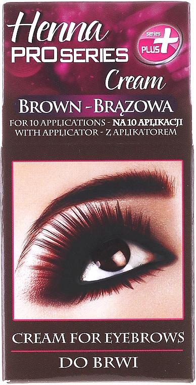 Henna - Creme-Henna für Augenbrauen