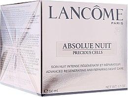 Düfte, Parfümerie und Kosmetik Nachtcreme - Lancome Absolue Precious Cells Advanced Regenerating and Repairing Night Cream