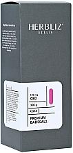 Düfte, Parfümerie und Kosmetik Badesalz mit ätherischem Rosenöl und Hanfextrakt - Herbliz CBD