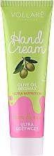 Düfte, Parfümerie und Kosmetik Pflegende Handcreme - Vollare Cosmetics De Luxe Hand Cream Ultra Nutrition