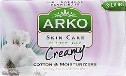 Düfte, Parfümerie und Kosmetik Parfümierte Körperseife - Arko Beauty Soap Creamy Cotton & Cream
