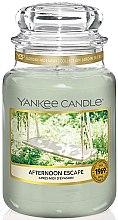 Düfte, Parfümerie und Kosmetik Duftkerze im Glas Afternoon Escape - Yankee Candle Afternoon Escape