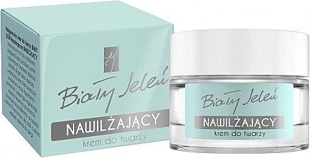 Feuchtigkeitsspendende Gesichtscreme mit Ziegenmilch - Bialy Jelen Nourishing Face Cream
