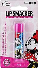 Düfte, Parfümerie und Kosmetik Lippenbalsam für Kinder mit erfrischendem Himbeermarmelade-Geschmack - Lip Smacker Disney Minnie Mouse Fresh Raspberry Jam