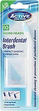 Düfte, Parfümerie und Kosmetik Interdentalzahnbürsten mit 10 Wechselköpfen - Beauty Formulas Interdent Brush with 10 Micro Heads