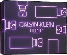 Düfte, Parfümerie und Kosmetik Calvin Klein Eternity For Woman - Duftset (Eau de Parfum 50ml + Duschgel 100ml + Körperlotion 100ml)