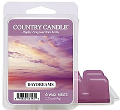 Düfte, Parfümerie und Kosmetik Duftwachs für Aromalampe Daydreams - Country Candle Daydreams Wax Melts