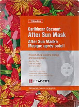Düfte, Parfümerie und Kosmetik Gesichtsmaske nach dem Sonnen mit karibischer Kokosnuss - Leaders 7 Wonders Caribean Coconut After Sun Mask