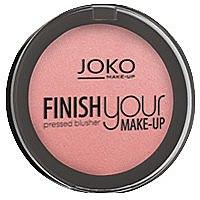 Düfte, Parfümerie und Kosmetik Kompaktes Gesichtsrouge - Joko Finish your Make-up Pressed Blusher