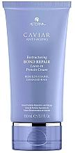 Düfte, Parfümerie und Kosmetik Anti-Aging Haarcreme für strapaziertes Haar - Alterna Caviar Anti-Aging Restructuring Bond Repair Leave-in Protein Cream